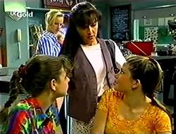 Lisa Elliot, Susan Kennedy, Hannah Martin, Anne Wilkinson in Neighbours Episode 2785