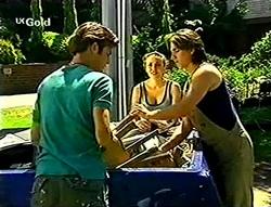 Malcolm Kennedy, Libby Kennedy, Darren Stark in Neighbours Episode 2786