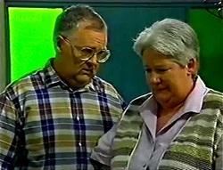 Harold Bishop, Claudia Harvey in Neighbours Episode 2786