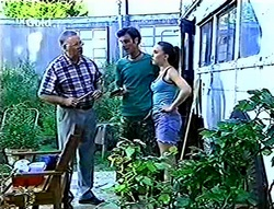 Harold Bishop, Malcolm Kennedy, Libby Kennedy in Neighbours Episode 2786
