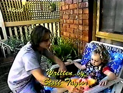 Darren Stark, Louise Carpenter (Lolly) in Neighbours Episode 2787