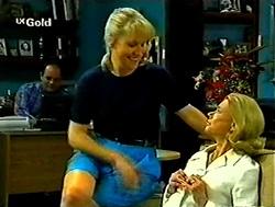 Philip Martin, Ruth Wilkinson, Helen Daniels in Neighbours Episode 2787