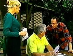 Joanna Hartman, Lou Carpenter, Barry (1997) in Neighbours Episode 2789