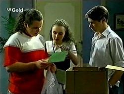 Toadie Rebecchi, Debbie Martin, Lance Wilkinson in Neighbours Episode 2789