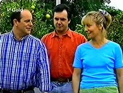 Philip Martin, Karl Kennedy, Ruth Wilkinson in Neighbours Episode 2789