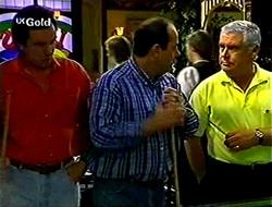 Karl Kennedy, Philip Martin, Lou Carpenter in Neighbours Episode 2789