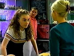 Debbie Martin, Toadie Rebecchi, Joanna Hartman in Neighbours Episode 2789