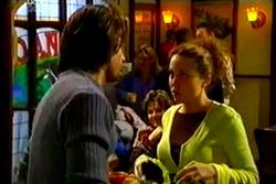 Drew Kirk, Lyn Scully, Libby Kennedy in Neighbours Episode 3638