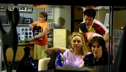 Bree Timmins, Janelle Timmins, Stingray Timmins, Dylan Timmins in Neighbours Episode 4698