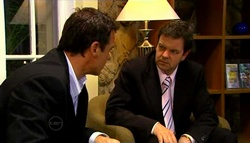 Paul Robinson, David Bishop in Neighbours Episode 4699
