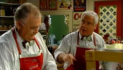 Harold Bishop, Lou Carpenter in Neighbours Episode 4699
