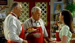 Harold Bishop, Lou Carpenter, Gabrielle Walker in Neighbours Episode 4699