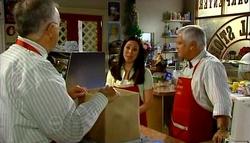 Harold Bishop, Gabrielle Walker, Lou Carpenter in Neighbours Episode 4700