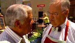 Lou Carpenter, Sindi Watts, Harold Bishop in Neighbours Episode 4700
