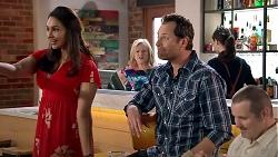 Dipi Rebecchi, Sheila Canning, Shane Rebecchi, Toadie Rebecchi in Neighbours Episode 7790