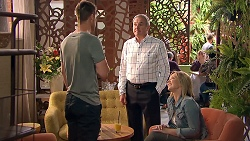 Mark Brennan, Karl Kennedy, Steph Scully in Neighbours Episode 7792