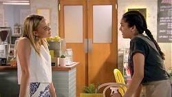 Xanthe Canning, Yashvi Rebecchi in Neighbours Episode 7793