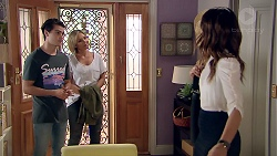 Ben Kirk, Steph Scully, Elly Conway in Neighbours Episode 7794