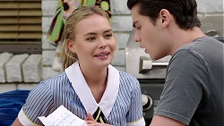 Xanthe Canning, Ben Kirk in Neighbours Episode 7794