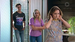 Ben Kirk, Xanthe Canning, Piper Willis in Neighbours Episode 7794