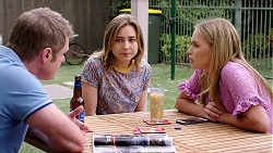 Gary Canning, Piper Willis, Xanthe Canning in Neighbours Episode 7794
