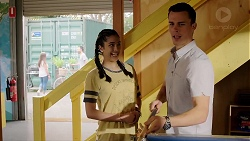 Yashvi Rebecchi, Jack Callaghan in Neighbours Episode 7795