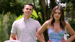 Jack Callaghan, Paige Novak in Neighbours Episode 7795
