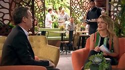 Paul Robinson, Rafael Humphreys, Izzy Hoyland in Neighbours Episode 7796