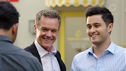 Rafael Humphreys, Paul Robinson, David Tanaka in Neighbours Episode 7796