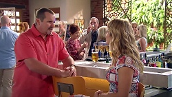 Toadie Rebecchi, Susan Kennedy, Karl Kennedy, Izzy Hoyland in Neighbours Episode 7796