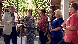 Karl Kennedy, Susan Kennedy, Elly Conway, Sheila Canning, Toadie Rebecchi in Neighbours Episode 7796