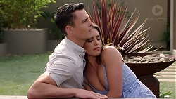 Jack Callaghan, Paige Novak in Neighbours Episode 7796