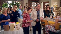 Sheila Canning, Steph Scully, Susan Kennedy, Karl Kennedy, Elly Conway, Izzy Hoyland in Neighbours Episode 7797