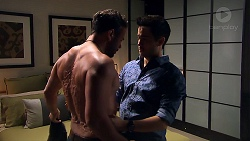 Rafael Humphreys, David Tanaka in Neighbours Episode 7797