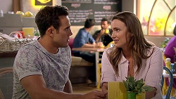 Aaron Brennan, Amy Williams in Neighbours Episode 7797