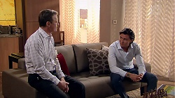 Paul Robinson, Leo Tanaka in Neighbours Episode 7797