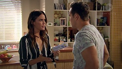 Elly Conway, Aaron Brennan in Neighbours Episode 7798