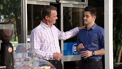Paul Robinson, David Tanaka in Neighbours Episode 7798