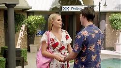 Xanthe Canning, Ben Kirk in Neighbours Episode 7798