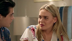 Ben Kirk, Xanthe Canning in Neighbours Episode 7798