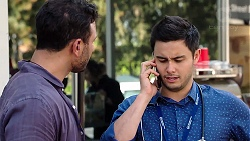 Rafael Humphreys, David Tanaka in Neighbours Episode 7798