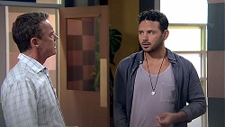 Paul Robinson, Rafael Humphreys in Neighbours Episode 7798
