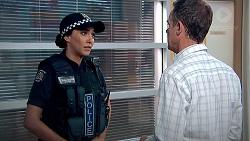 Mishti Sharma, Paul Robinson in Neighbours Episode 7798