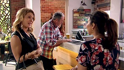 Izzy Hoyland, Karl Kennedy, Dipi Rebecchi in Neighbours Episode 7798