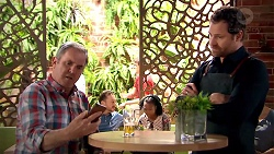Karl Kennedy, Shane Rebecchi in Neighbours Episode 7799
