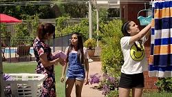 Dipi Rebecchi, Kirsha Rebecchi, Yashvi Rebecchi in Neighbours Episode 7799