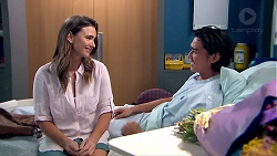 Amy Williams, Leo Tanaka in Neighbours Episode 7799