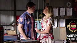 Ben Kirk, Xanthe Canning in Neighbours Episode 7799