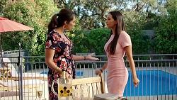 Dipi Rebecchi, Mishti Sharma in Neighbours Episode 7800