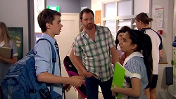 Jimmy Williams, Shane Rebecchi, Kirsha Rebecchi in Neighbours Episode 7800